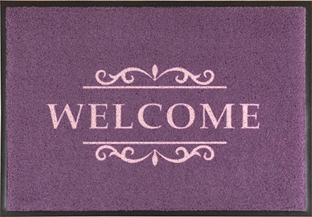fu matte easy clean mats welcome terracotta. Black Bedroom Furniture Sets. Home Design Ideas