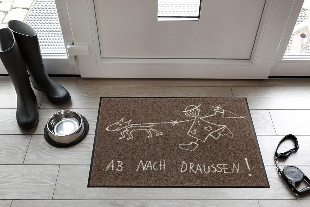 fu matte salonloewe ab nach draussen. Black Bedroom Furniture Sets. Home Design Ideas