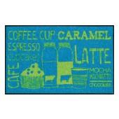 Fußmatte Salonloewe Coffeehouse Blue