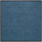 Fußmatte Salonloewe Uni denimblau quadratisch