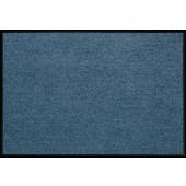 Fußmatte Salonloewe Uni denimblau rechteckig