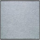 Fußmatte Salonloewe Uni silbergrau quadratisch