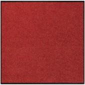 Fußmatte Salonloewe Uni terracotta quadratisch
