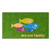 Kokosfußmatte Fish Family