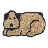 Kokosfußmatte Hund Wendematte