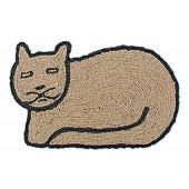 Kokosfußmatte Katze Wendematte