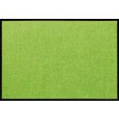 Fußmatte Salonloewe Uni apfelgrün rechteckig XXL