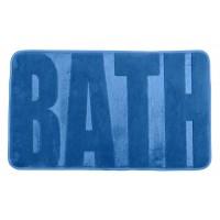Badteppich Memory Foam Bath blau