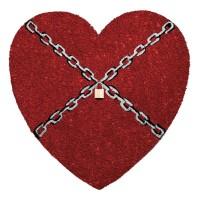 Fußmatte Chainheart Kokos