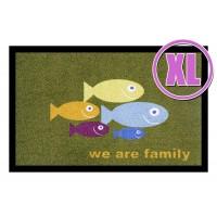 Fußmatte Deco & Wash Family XL