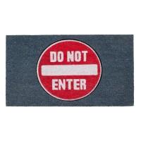 Fußmatte Do not enter Kokos