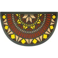 Fußmatte Kaleidoskop Türansicht