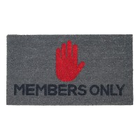 Fußmatte Members Only Kokos