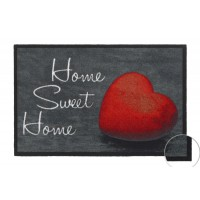Fußmatte Mondial Home Sweet Home red
