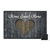 Fußmatte Mondial Woodwall Heart