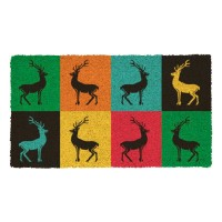 Fussmatte Pop art deers Kokos