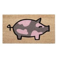 Fußmatte Schwein Kokos