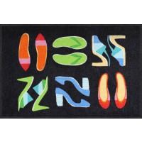 Fußmatte Shoe Collection Black