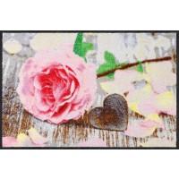 Fußmatte Rosenblättchen