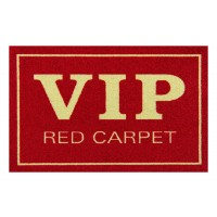 Fußmatte Clean Keeper VIP red carpet