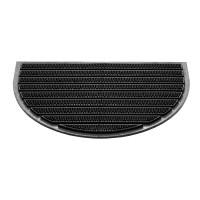 Fußmatte Compact halbrund