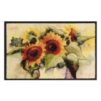 Fußmatte Easy Clean Sonnenblumen