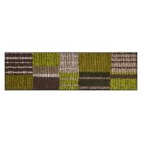 Fußmatte Salonloewe Aboriginee Stripes green XXL
