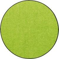 Fußmatte Uni apfelgrün rund