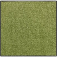 Fußmatte Salonloewe Uni olivgrün quadratisch