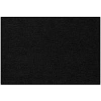 Fußmatte Salonloewe Uni schwarz rechteckig