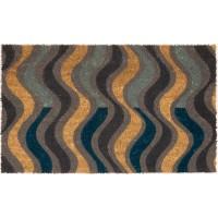 Kokosfußmatte Lako Cocoprint Colori Wellen