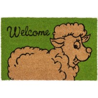 Kokosfußmatte Cocoprint Colori Schaf