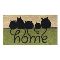 Kokosfußmatte Home Cats