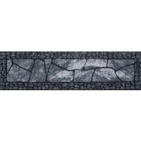 Fußmatte Master Flagged floor grau Stufenmatte 23 cm x 89 cm