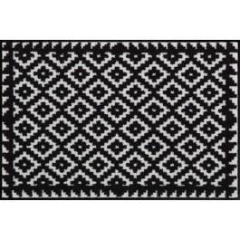 Fußmatte Salonloewe Design Tabuk Black & White 60cm x 120cm