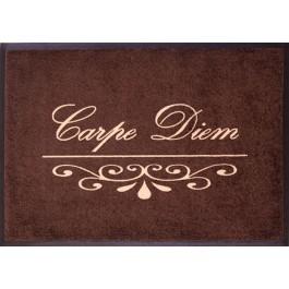 Fußmatte Easy Clean Mats Carpe Diem bordeaux