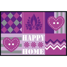 Fußmatte Eurographics Happy Patterns 50x75
