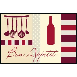 Fußmatte Eurographics Bon Appetit 50 x 75
