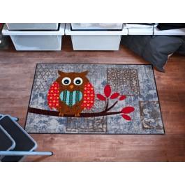 Fußmatte Salonloewe Design Eule Vintage Betty 50cm x 75cm