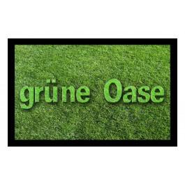 Fußmatte Deco & Wash grüne Oase