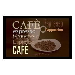 Fußmatte Deco & Wash Kaffee