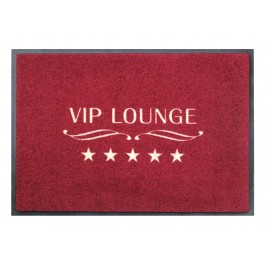 Fußmatte Easy Clean Mats VIP Lounge rot