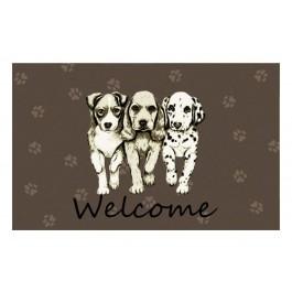 Fußmatte Gallery Hunde Welcome