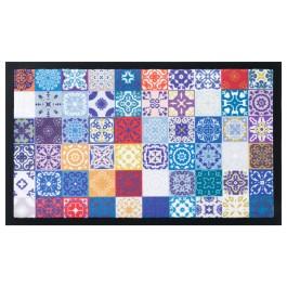 Fußmatte Image Moroccan Tiles