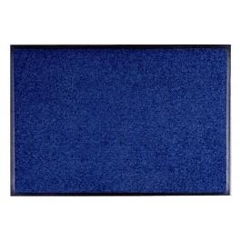 Fussmatte Uni dunkelblau
