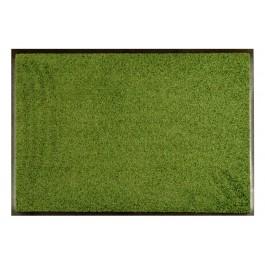 Fußmatte Uni dunkelgrün