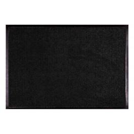 Fußmatte Uni schwarz