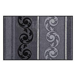 Fußmatte Salonloewe Design Arabeske Grau 50cm x 75cm