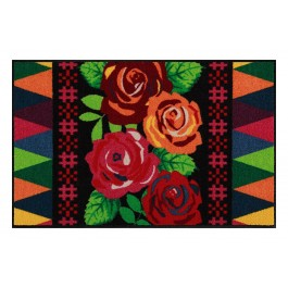 Fußmatte Salonloewe Design Beauty Roses 50cm x 75cm