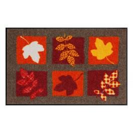 Fußmatte Salonloewe Design Blätterregen